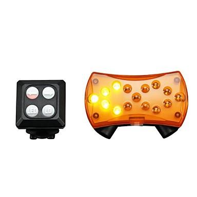 olcso Kerékpár világítás-Lézer LED Kerékpár világítás Irányjelző lámpa Kerékpár hátsó lámpa biztonsági világítás LED Hegyi biciklizés Kerékpár Kerékpározás Vízálló Többféle üzemmód Hordozható Gyors kioldású Tölthető 200 lm