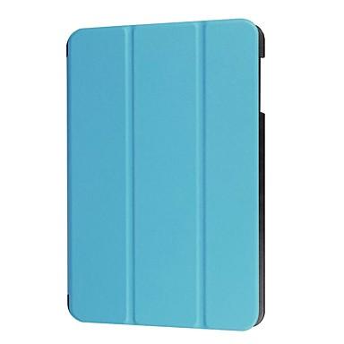 voordelige Samsung-hoes voor tablets-hoesje Voor Apple Tab A 10.1 (2016) met standaard Volledig hoesje Effen Hard PU-nahka