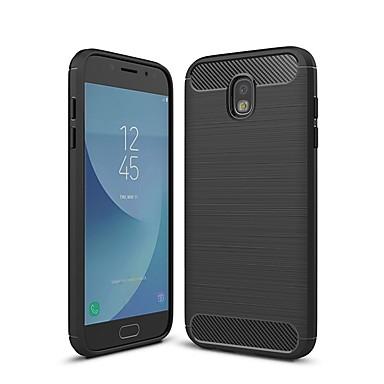 غطاء من أجل Samsung Galaxy J7 (2017) / J5 (2017) / J3 (2017) ضد الصدمات غطاء خلفي لون سادة ناعم TPU