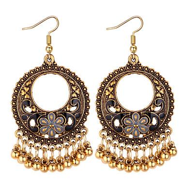 povoljno Naušnice-Žene Viseće naušnice Chandelier dame Vintage Moda Naušnice Jewelry Crn / Crvena / Plava Za Party Kauzalni