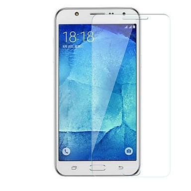 Samsung GalaxyScreen ProtectorJ5 9Hقسوة حامي شاشة أمامي 1 قطعة زجاج مقسي