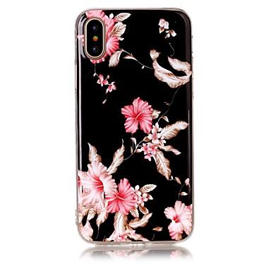 iphone x coque fleur