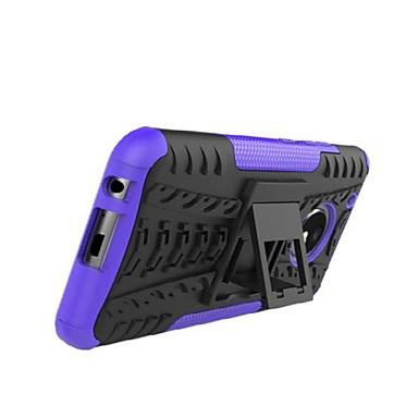 Недорогие Чехлы и кейсы для Motorola-Кейс для Назначение Motorola Moto Z2 play / Мото Z / Moto Z Force Защита от удара / со стендом / броня Кейс на заднюю панель Плитка / броня Твердый ПК / Мото G5 Plus / Мото G4 Plus