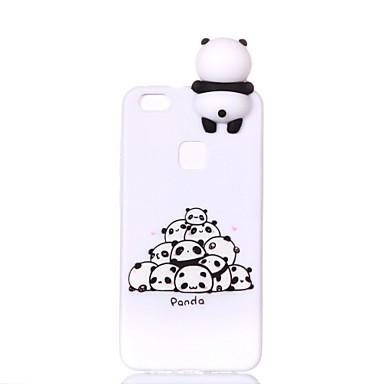 povoljno Maske za mobitele-Θήκη Za Huawei Huawei P20 lite / P10 Lite / P10 Uzorak / Uradi sam Stražnja maska Crtani film / Panda Mekano TPU