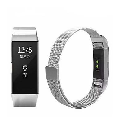 رخيصةأون أساور ساعات FitBit-حزام إلى Fitbit Charge 2 فيتبيت عصابة الرياضة / عقدة ميلانزية ستانلس ستيل شريط المعصم