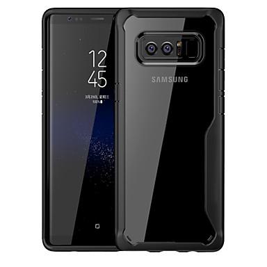 voordelige Galaxy Note-serie hoesjes / covers-hoesje Voor Samsung Galaxy Note 8 Schokbestendig / Doorzichtig Achterkant Effen Hard PC