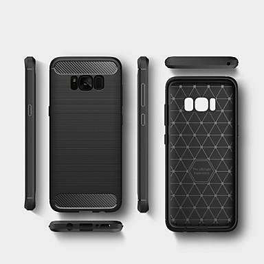 Θήκη Za Samsung Galaxy S8 Plus / S8 / S7 edge Otporno na trešnju Stražnja maska Jednobojni Mekano TPU