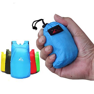 olcso Hátizsákok és táskák-20 L Hátizsákok Könnyű csomagolható hátizsák Vízálló Könnyű Ultra könnyű (UL) Összecsukható Külső Túrázás Kemping Utazás Műanyag Piros Zöld Kék / Púdertartó / Kopásállóság