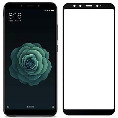 Недорогие Защитные плёнки для экранов Xiaomi-asling протектор экрана для xiaomi xiaomi mi 6x (mi a2) закаленное стекло 1 шт. полный защитный экран для экрана корпуса. Устойчивость к царапинам. 2.5d изогнутый край.
