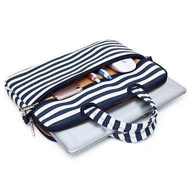 حقائب الكتف حقائب اليد موجات قماش حقيبة كمبيوتر محمول ل macbook air 13.3 / macbook pro retina13.3 15.4 / new macbook 13.3 15.4 مع شريط اللمس