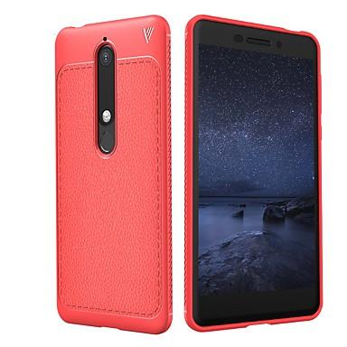Lenuo Θήκη Za Nokia 8 Sirocco / Nokia 6 2018 Reljefni uzorak Stražnja maska Jednobojni Mekano TPU za 8 Sirocco / Nokia 7 / Nokia 7 Plus