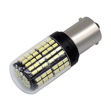 voordelige Motorverlichting-SO.K 2pcs 1156 Motor / Automatisch Lampen 6 W SMD 3014 600 lm 144 LED Dagrijverlichting / Richtingaanwijzerlicht / Motor For Universeel Alle jaren