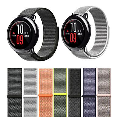 voordelige Smartwatch-accessoires-Horlogeband voor Huami Amazfit A1602 Xiaomi Moderne gesp Nylon Polsband