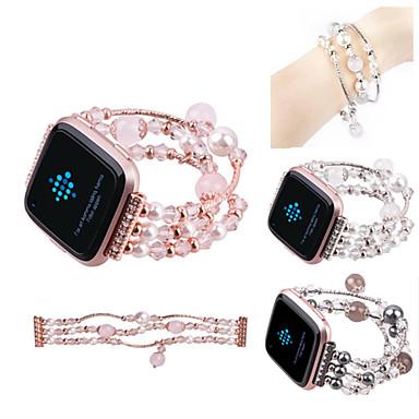 billige Klokkeremmer til Fitbit-Klokkerem til Fitbit Versa Fitbit Smykkedesign Keramikk Håndleddsrem