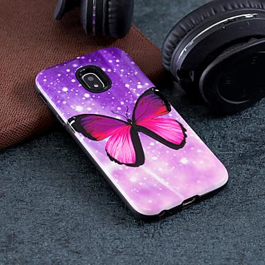 Θήκη Za Samsung Galaxy J7 (2017) / J5 (2017) / J3 (2017) Uzorak Stražnja maska Rukav leptir Tvrdo PC