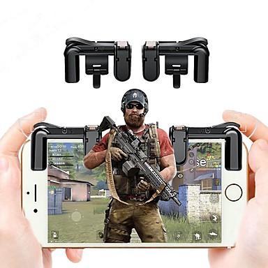 olcso PUBG tartozékok-2db mobiltelefon játékindító l1r1 lövöldözős vezérlő a pubg kések számára a túlélési szabályzó lövöldözős gombja számára