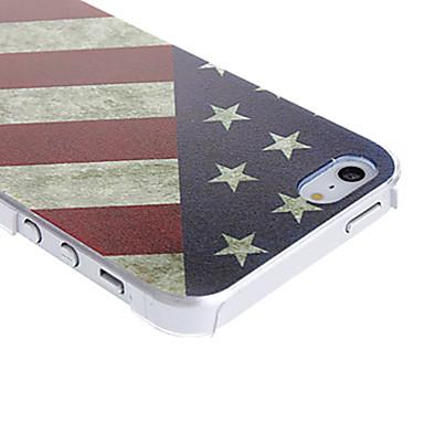 Maska Pentru iPhone 5 / Apple iPhone SE / 5s / iPhone 5 Model Capac Spate Steag Greu PC