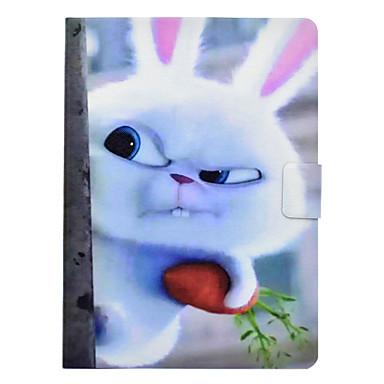 hoesje Voor Samsung Galaxy Tab 3 10.1 Kaarthouder / Schokbestendig / met standaard Volledig hoesje dier Hard PU-nahka