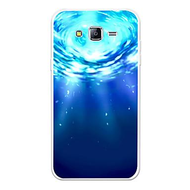 رخيصةأون حافظات / جرابات هواتف جالكسي J-غطاء من أجل Samsung Galaxy J7 (2017) / J7 (2016) / J7 نموذج غطاء خلفي منظر / كارتون ناعم TPU