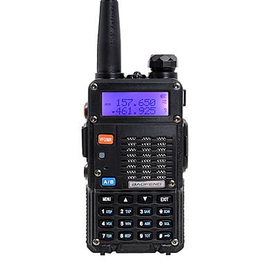 BAOFENG 5RT 8W Handheld Dual Band 5KM-10KM 5KM-10KM Walkie Talkie Two Way Radio / 136-174MHz / 400-520MHz Intercom Small Radio Preofessional FM Transceiver