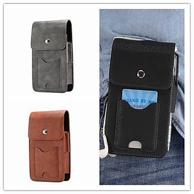 povoljno Maske za mobitele-Θήκη Za Samsung Galaxy S9 / S9 Plus / S8 Plus Utor za kartice Vrećica Jednobojni Tvrdo prava koža