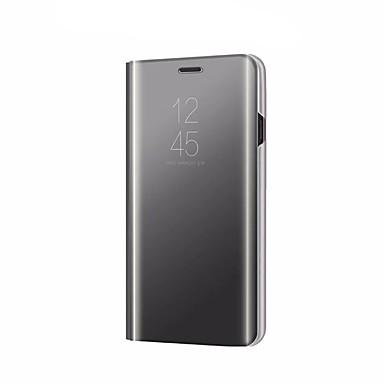 رخيصةأون Xiaomi أغطية / كفرات-غطاء من أجل Xiaomi Xiaomi Mi Mix 2 / Xiaomi Mi 6X(Mi A2) / Xiaomi Mi 5X مع حامل / تصفيح / مرآة غطاء كامل للجسم لون سادة قاسي الكمبيوتر الشخصي