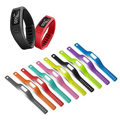 ราคาถูก อุปกรณ์เสริมโทรศัพท์มือถือ-สายรัดข้อมือซิลิโคนเปลี่ยนวงนาฬิกาสำหรับ garmin vivofit 1 / vivofit 2 เข็มขัดสร้อยข้อมือ