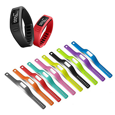 baratos Acessórios Para Celular-Pulseira de relógio de substituição de pulseira de silicone para garmin vivofit 1 / vivofit 2 pulseira cinto