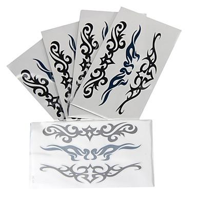 رخيصةأون وشم مؤقت-10 pcs ملصقات الوشم الوشم المؤقت سلسلة الطوطم الفنون الجسم ذراع