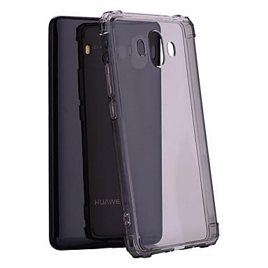 voordelige Huawei Mate hoesjes / covers-hoesje Voor Huawei Mate 10 / Y9 (2018)(Enjoy 8 Plus) Schokbestendig / Doorzichtig Achterkant Effen Zacht TPU