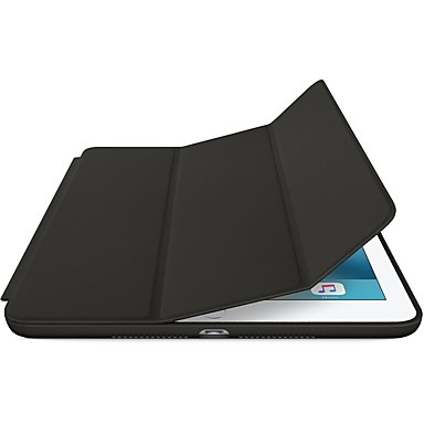 billige Etuier og deksler til iPad-Etui Til Apple iPad Mini 5 / iPad New Air (2019) / iPad Air med stativ / Origami / Magnetisk Heldekkende etui Ensfarget Hard PU Leather / iPad Pro 10.5 / iPad (2017)