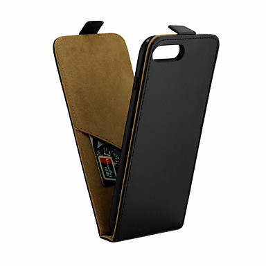 olcso iPhone 7 Plus tokok-Case Kompatibilitás Apple iPhone 8 Plus / iPhone 7 Plus IMD Héjtok Egyszínű Puha PU bőr
