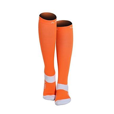 olcso Zoknik-Nejlon Férfi Női Egyszínű Kompressziós zokni Hosszú zokni Csúszásgátló Viselhető Nem csúszik Sport & Szabadtéri 1 pár