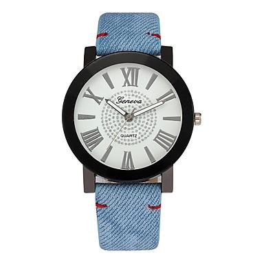 رخيصةأون ساعات الرجال-رجالي ساعة فستان جلد اصطناعي أزرق / أزرق بحري 30 m الكرونوغراف إبداعي طرد كبير مماثل ترف كلاسيكي - أزرق داكن أزرق سنة واحدة عمر البطارية / ستانلس ستيل / SSUO LR626