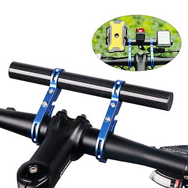 Χαμηλού Κόστους Τιμόνια & Λαβές & Ακροτίμονα-Προέκταση τιμονιού ποδηλάτου Προεκτάτης ποδηλάτου ποδηλάτου Ινα άνθρακα Ελαφρύ για Ποδήλατο Δρόμου Ποδήλατο Βουνού Ινα άνθρακα Θαλασσί Μαύρο Ρουμπίνι