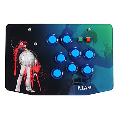 olcso PC-játék tartozékok-K1A Vezetékes Joystick Kompatibilitás Sony PS3 / PC ,  Joystick ABS 1 pcs egység