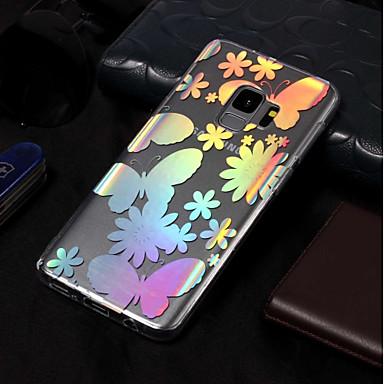 voordelige Galaxy S-serie hoesjes / covers-hoesje Voor Samsung Galaxy S9 / S9 Plus / S8 Plus IMD / Patroon Achterkant Vlinder Zacht TPU