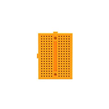 olcso Tartozékok-Mini Breadboard - Yellow (46 x 35 x 8,5 mm)