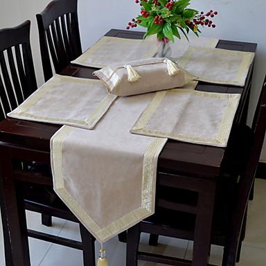 معاصر PVC مربع قماش طاولة هندسي الجدول ديكورات 1 pcs