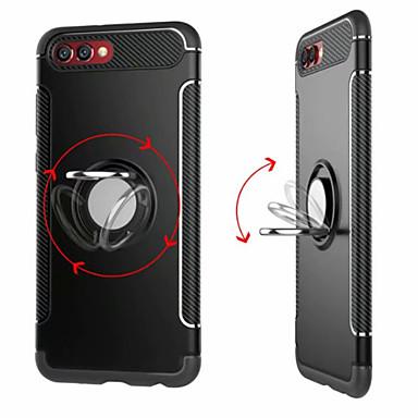 povoljno Maske za mobitele-Θήκη Za Huawei Honor 9 / Huawei Honor 9 Lite / Honor 8 Prsten držač Stražnja maska Jednobojni Tvrdo PC