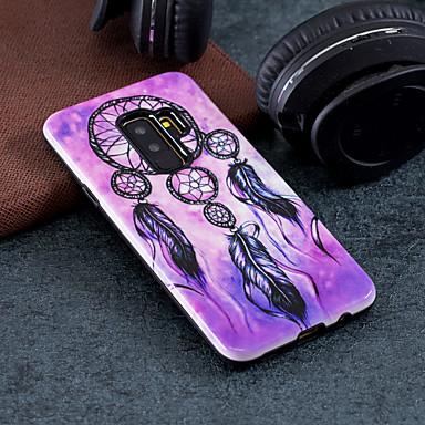 voordelige Galaxy S-serie hoesjes / covers-hoesje Voor Samsung Galaxy S9 / S9 Plus / S8 Plus Patroon Achterkant Dromenvanger Hard PC