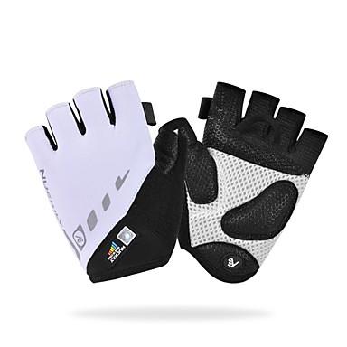 Women Men Half Finger Adult Anti-slip Breathable Black Sports Bike Cycling Glove