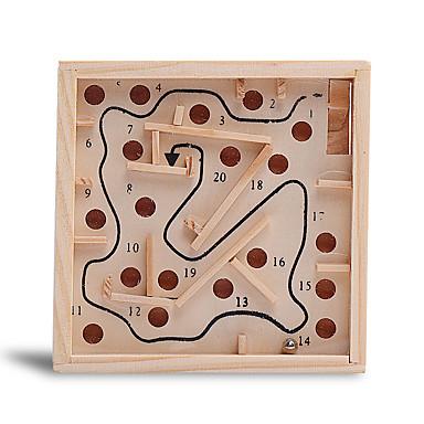 olcso puzzle játékok-Fából készült építőjátékok Fa / Bambusz Összes Iskola előtti Ajándék 1pcs