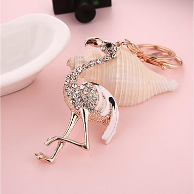 ieftine Breloc-breloc Casual Modă Diamante Artificiale Inele la Modă Bijuterii Alb / Roz Deschis Pentru Cadou Zilnic