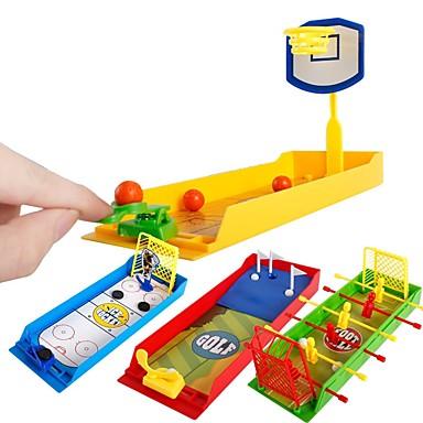 olcso Balls és kiegészítők-Kosárlabda Játékok Mini Futball Golf Egyszerű Stressz és szorongás oldására Office Desk Toys Műanyag ház Fiú Lány Játékok Ajándék 1 pcs
