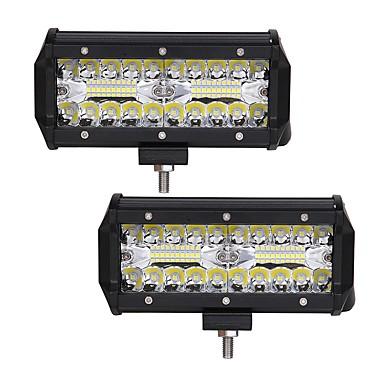 olcso LED-es autó fényszórók-otolampara 2db autó izzók 120 w-os integrált led 12000 lm 40 led világító lámpák univerzális 2018 (16,5 * 7,5 * 6,5 cm)