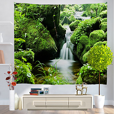 Holiday Wall Decor Polyester Classic Wall Art, Wall Tapestries Decoration