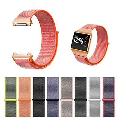 Недорогие Аксессуары для смарт-часов-Ремешок для часов для Fitbit ionic Fitbit Современная застежка Нейлон Повязка на запястье