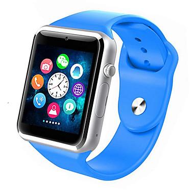 رخيصةأون ساعات ذكية-سمارت ووتش W8 إلى Android رمادي داكن / إسبات الطويل / مكالمات بدون يد / شاشة لمس / كاميرا المشي / تذكرة بالاتصال / متتبع النشاط / متتبع النوم / تذكير المستقرة / 0.3 MP / ساعة منبهة / عداد الخطى