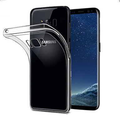 غطاء من أجل Samsung Galaxy S8 Plus شفاف غطاء خلفي لون سادة ناعم TPU